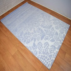 Modern Traditional Large Floral Blue and White Area Rug