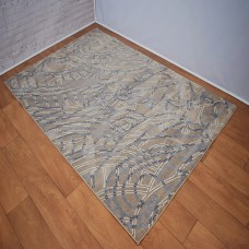 Modern Madalas Beige and Grey Area Rug