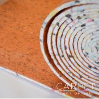 8mm Bronze PU Foam Carpet Underlay