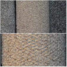 Prima Vera Golden Beige Berber Carpet Remnant 3.7m x 4m