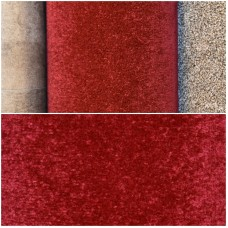 City Twist Red Carpet Remnant 3.2m x 4m