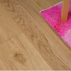 20mm Multi Layered Plank Natural Oak Lacquered Laminate Flooring