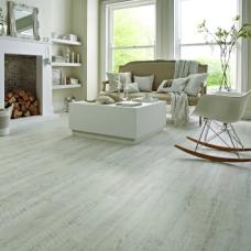 Karndean Knight Tile White Painted Oak Wood Effect LVT