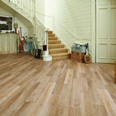 Karndean Knight Tile Pale Limed Oak Wood Effect LVT