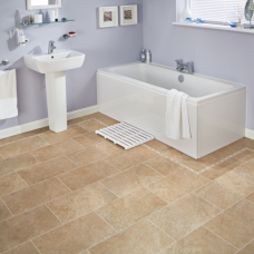 Karndean Knight Tile Bath Stone Tile Effect LVT