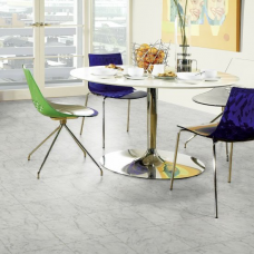 Karndean Knight Tile Carrara Stone Tile Effect LVT