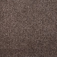 Amber Soft Touch Brown Beige Twist Pile Carpet Runner - 1m Width