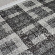 Nevada Wilton Cream/Dark Grey Carpet
