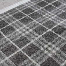 Nevada Wilton Dark Grey/Cream Carpet