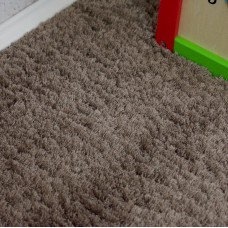 Amore Shaggy Dark Beige Carpet