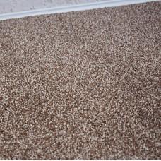 Athens Brown Beige Saxony Carpet