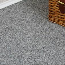 Plemont Light Grey Twist Pile Carpet