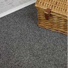 Plemont Dark Silver Grey Twist Pile Carpet