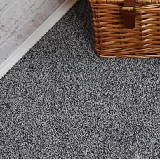 Plemont Silver Grey Twist Pile Carpet