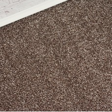 Bella Brown Beige Saxony Carpet