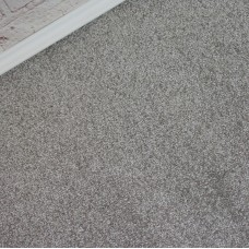 Opulent Light Grey Twist Pile Carpet