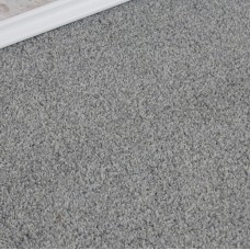 Conquest Light Silver Twist Pile Carpet Remnant 2.6m x 4m - JT706