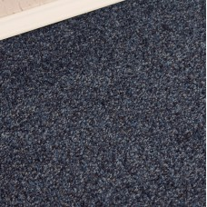 Conquest Blue Twist Pile Carpet