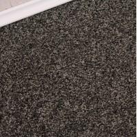 Conquest Black Silver Twist Pile Carpet Remnant 3.1m x 5m - FN268