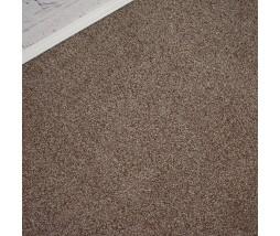 Conquest Light Brown Twist Pile Carpet Remnant 2.7m x 3.9m - AT049