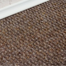 Crosland Contract Brown Ribbed Carpet