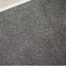 Dakota Grey Silver Felt Back Saxony Carpet