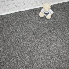 Denver Supreme Silver Grey Saxony Carpet
