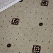 Hilton Beige/Cream Patterned Wilton Carpet