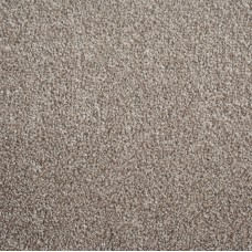 Houston Mid Beige Saxony Carpet Remnant 4.3m x 3.9m - IT610