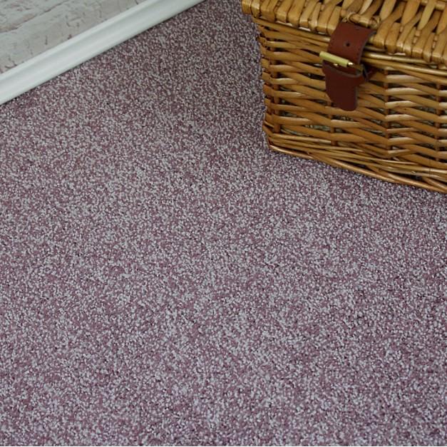 Tucson Purple Twist Pile Carpet