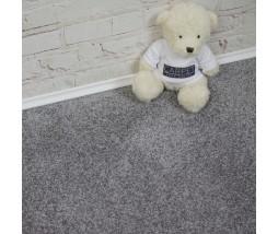 Magnificent Silver Cloud Saxony Carpet