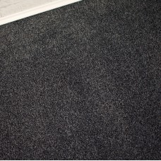 Conquest Black Grey Twist Pile Carpet