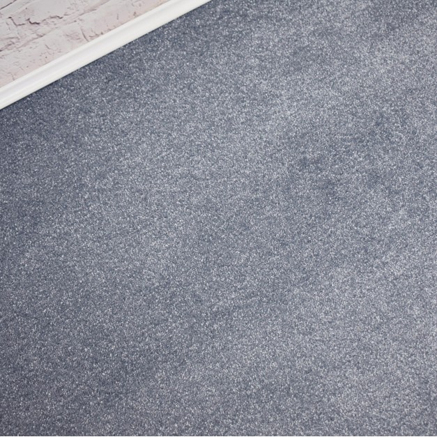 Abingdon Stainfree Melody Blue Bell Saxony Carpet