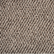 New Rodeo Beige Patterned Twist Pile Carpet