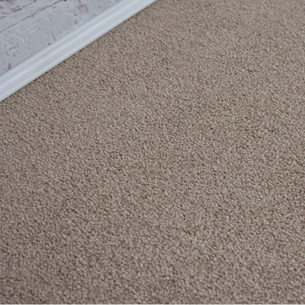 Santiago Golden Beige Saxony Carpet