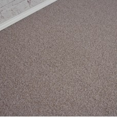 Santiago Brown Beige Saxony Carpet