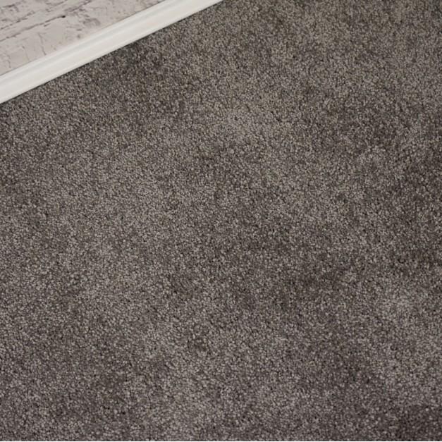 Oxford Minky Grey Saxony Carpet