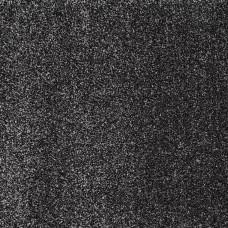 Phoenix Black Silver Saxony Carpet Remnant 1.6m x 4m