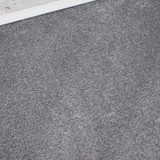 Prime Time Elite Dull Silver Felt Back Saxony Carpet