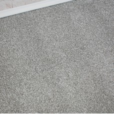 Prime Time Elite Silver Felt Back Saxony Carpet