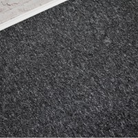 Sonic Black Grey Berber Loop Carpet