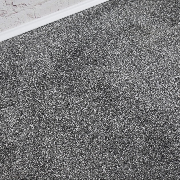 Swiss Silver Grey Saxony Carpet