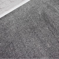 Texas Soft Touch Dark Silver Grey Saxony Carpet