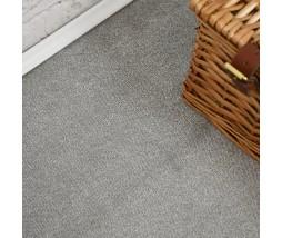 Velvet Saxony Light Grey Carpet