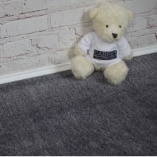Velvet Dark Grey Saxony Carpet