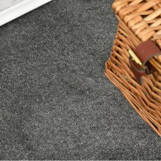 Velvet Anthracite Saxony Carpet
