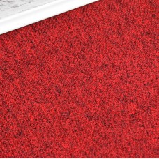 Vienna Red Loop Carpet Tile